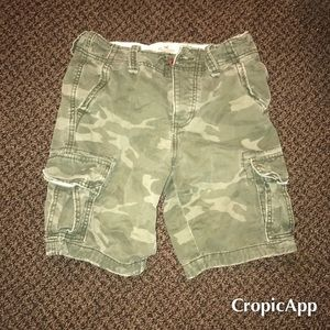 Men's Holister cargo shorts