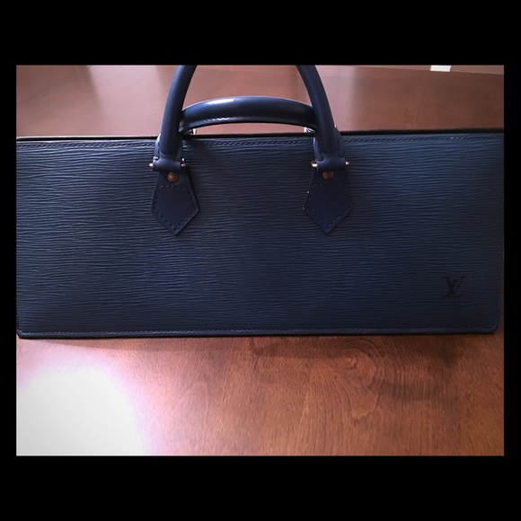 Louis Vuitton Handbags - Vintage Epi Sac tricot Triangle handbag 52e3cd80eca81