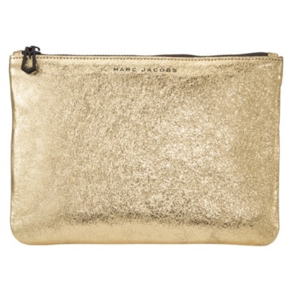 Marc Jacobs for Neiman Marcus x Target Gold Pouch.  M 59b1f8cd3c6f9fcf06010ca5 8a51938240