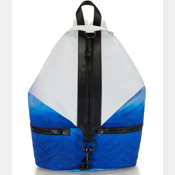 Rebecca Minkoff Handbags - Rebecca Minkoff White Blue Ombre Julian Backpack