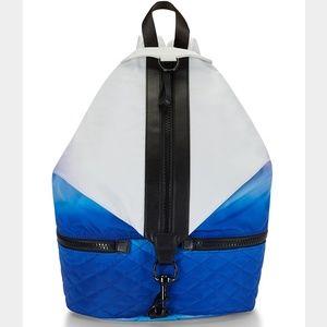 Rebecca Minkoff Bags - Rebecca Minkoff White Blue Ombre Julian Backpack
