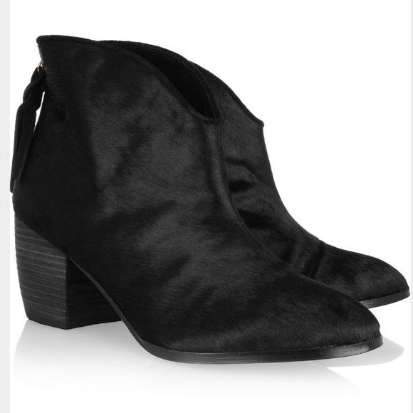 Cynthia Vincent Leather Ankle Boots outlet cost Cj42EEFeHg