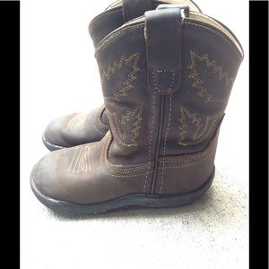 243e02f9b6b Old West Crazy horse toddler boys boot size 7.5
