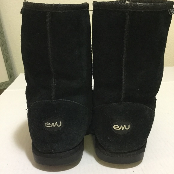 Emu Shoes - EMU Black Boots Size 9