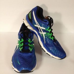 Asics fluid ride tennis shoes sneakers 10 1/2