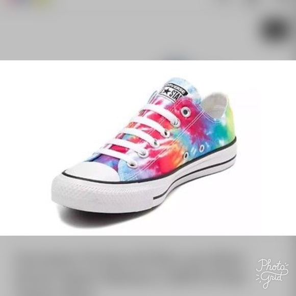 1676a3fff1ae Converse Shoes - Very hard to find Tie Dyed Converse