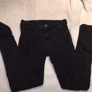 👖Black skinny jeans