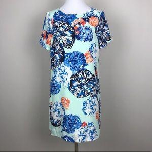 J. Crew Floral Gallery Shift Dress.