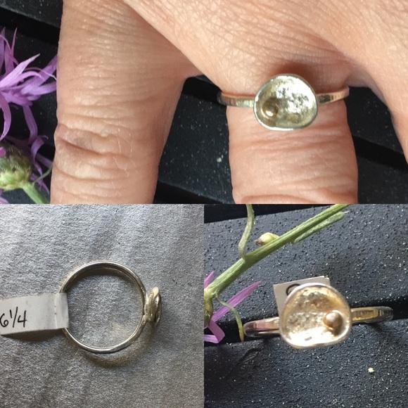 CBL Jewelry - Sterling silver artisan boho ring, size 6.25