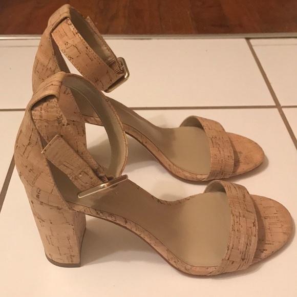 abb151c58bb Ann Taylor Shoes - NWOT Ann Taylor Leda Cork Block Heel Sandal