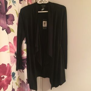 Sweaters - NWT Black Draped Cardigan