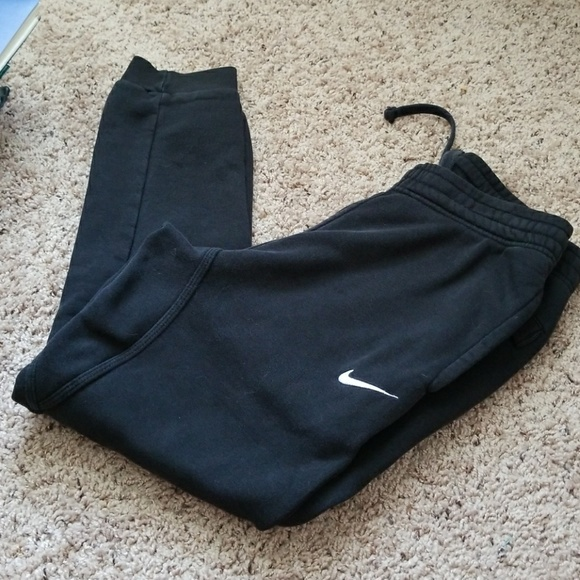beauty excellent quality huge inventory Used Nike fleece tapered swoosh club sweatpants