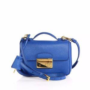 Prada Cobalt Blue Saffiano Bag