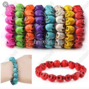 Jewelry - Skull bead bracelet