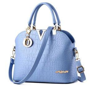 Handbags - 💙💙💙Leather Bag Womens Shoulder Bags Top-Handle