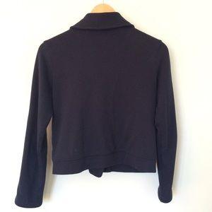 GAP Jackets & Coats - ❌ Gap Blue Sweatshirt Moto Jacket