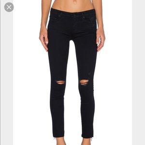 Ripped Mother jeans
