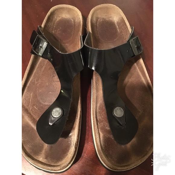 35fa3e1bbe2e8d Birkenstock Shoes - Birkenstock Betula black patent leather size 9 40