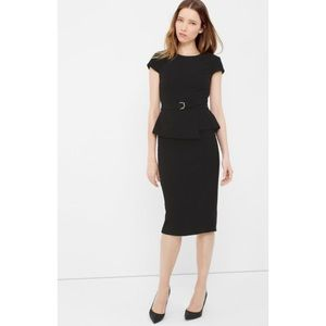 Sold Out WHBM Peplum Sheath Dress 2