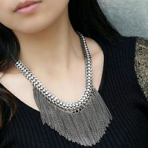 Jewelry - 🎅⚠PRICE DROP⚠⚠ NEW Tassel Necklace Silver Color