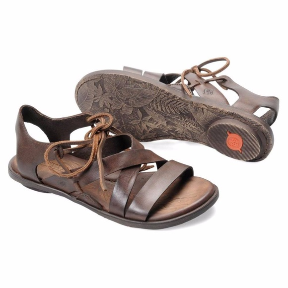 cc3ede595b23 Born Elsa Brown Sandals