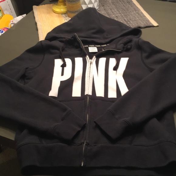 Black PINK zip up hoodie