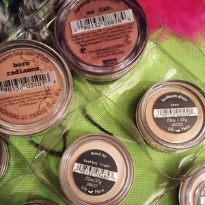 Sephora Makeup - I.d.bare minerals weightless powder face bundle.