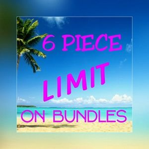 Accessories - Limit bundles to 6pcs