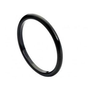 Other - Thin black tungsten ring