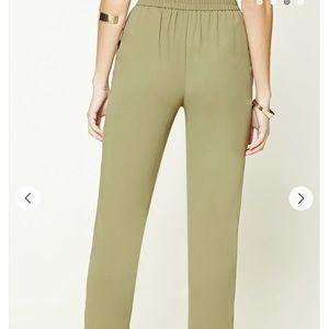 Pants - Woven Straight Leg Pants