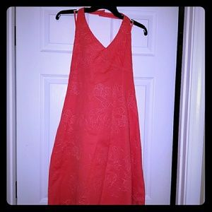 Ann Taylor halter dress
