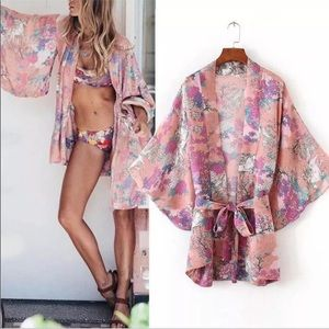 Other - 5🌟Fave 🦄 Wild Horses/Unicorn 🦄 Belted Kimono