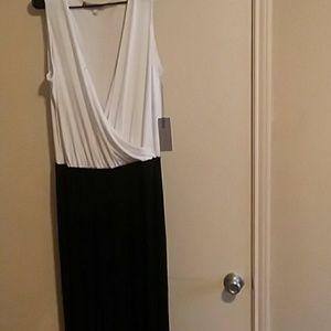 A black and white Jennifer Lopez jumpsuit