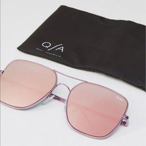 89ae86a8db358 Quay Australia Accessories - Pink Stop and Stare Quay Australia Sunglasses