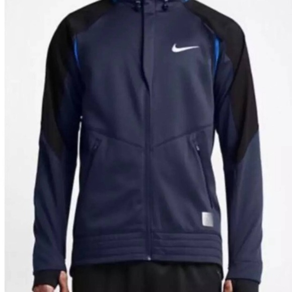reputable site 0fd2b dd6ba Nike Hyper Elite Winterized Motion Hoodie Size M