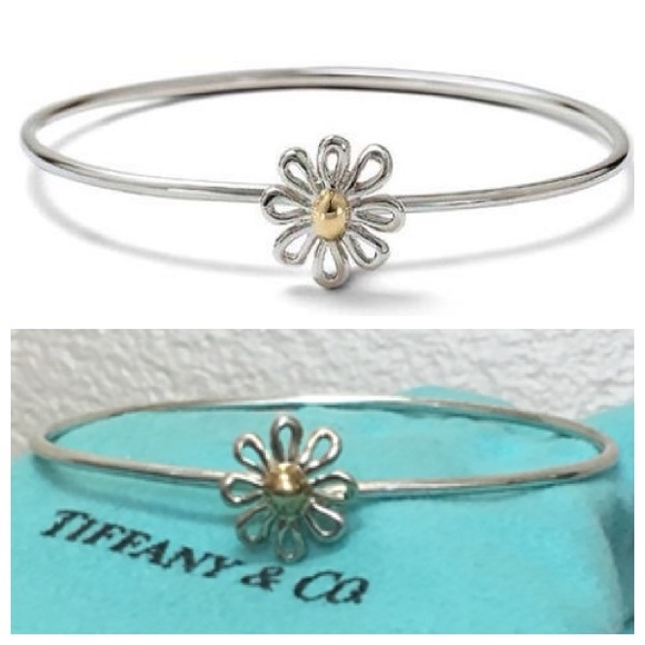 4d0ed3d3ab0d6 Tiffany & Co. Paloma Picasso Silver 18K Gold Daisy