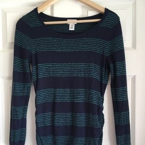 Lightweight Stripey Maternity Sweater