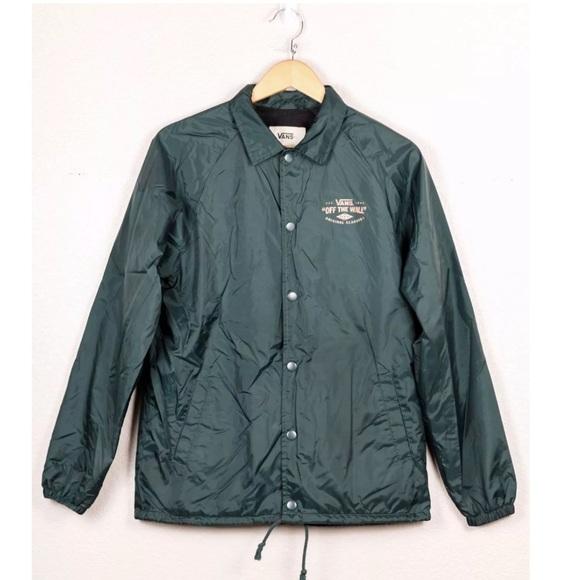 8cedf3c79d Vans Torrey Coaches Jacket Skate Windbreaker. M 59b2a82799086a423802b837