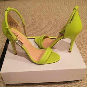 Prabual Gurang for Target Neon Minimal  Heels