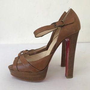 christian louboutin heels 39.5