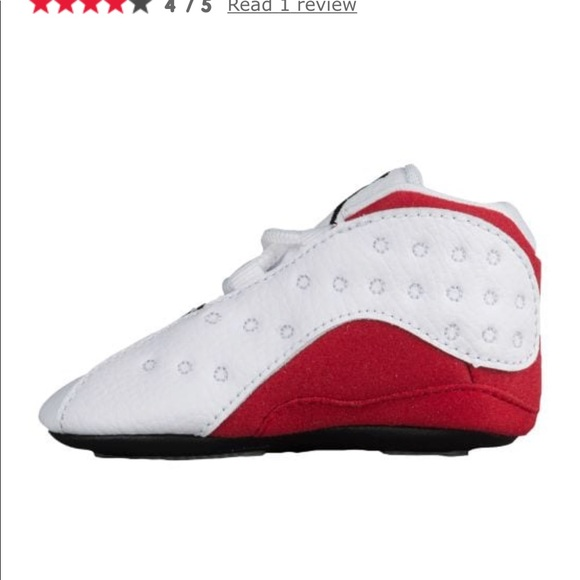 new concept 4b4db 277cf red and white jordans 13 infants gift pack