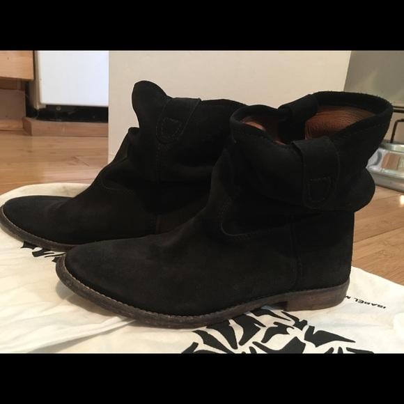 c43a74d776 Isabel Marant Shoes - Isabel Marant Jenny black suede boot 36 / 6/6.5