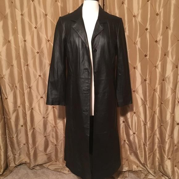 ef58cd1a71bc1 Centigrade Jackets   Blazers - NWOT Women s Centigrade Full Length Leather  Coat