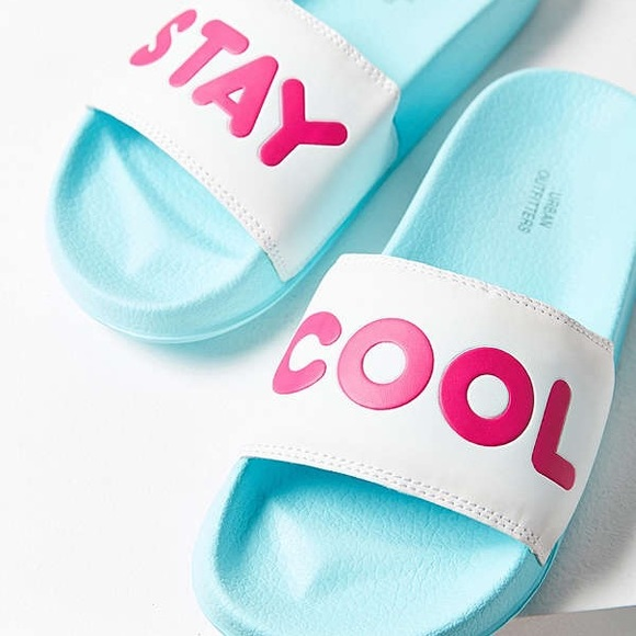 urban outfitters shoes stay cool slides poshmark