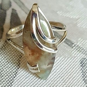 Jewelry - Aqua Chrysophase Ring Sterling