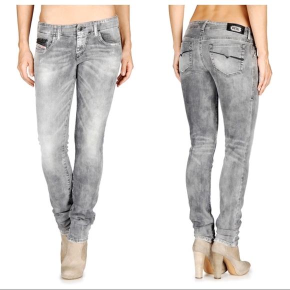25e836a6 Diesel Denim - Diesel Grupee Super Slim-Skinny Stretch Jeans