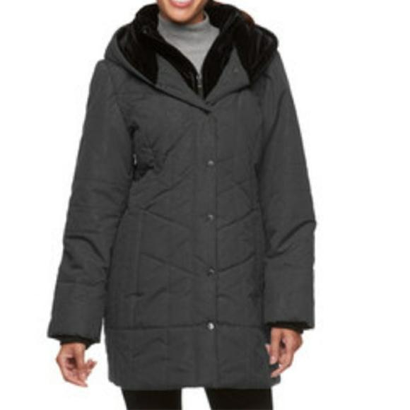 27040c4a6ce Croft   Barrow Hooded Paisley Puffer Jacket