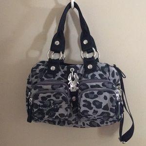 "George Gina Lucy ""side saddle"" bag leopard pattern"
