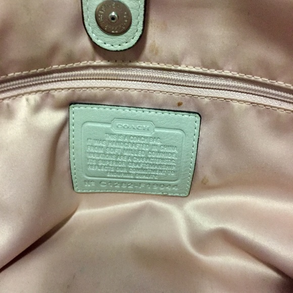 Coach Bags - COACH Authentic All Leather Grey Tote