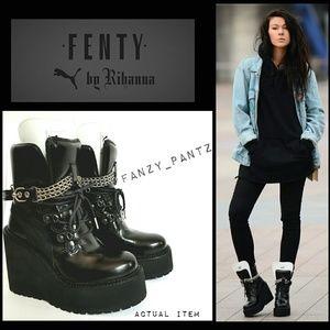 Puma Shoes - Puma Fenty by Rihanna platform wedge sneaker boot a9793de8c